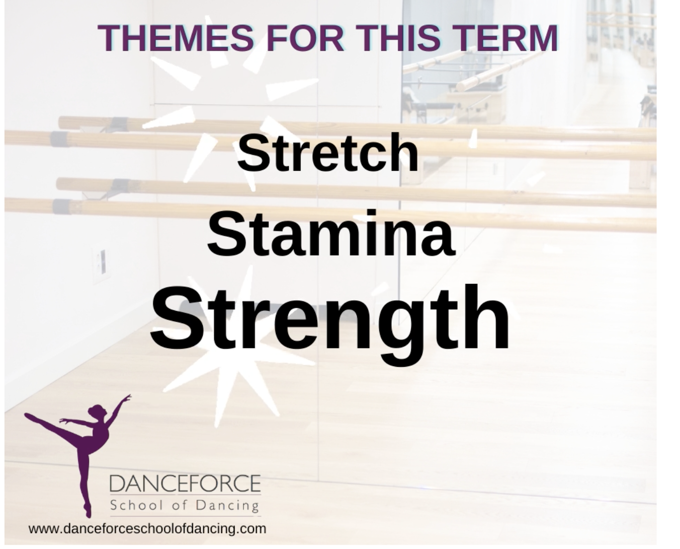 We are here for you! Your child will feel safe knowing that dance can remain constant no matter what else is happening. We will help their lives feel secure.