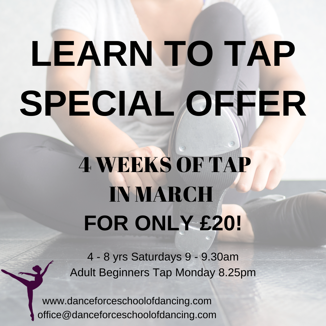 Learn to tap special offer!