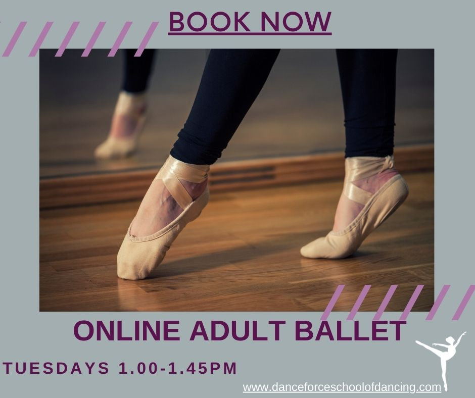 Lunchtime Adult Ballet Class